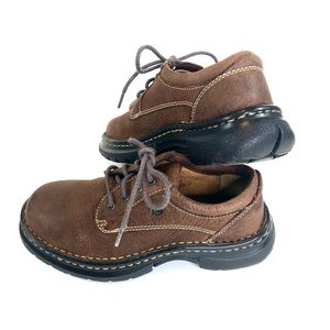Born Shoes - Born Boys Brown Leather Oxfords Size 1